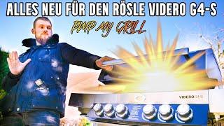 PIMP MY Rösle Videro G4-S [NEXT LEVEL Gasgrill] Neues Grillzubehör 2021