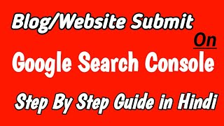 How can I add my blog to Google Search Console?