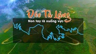 Cảnh Báo Hơn 50 Khúc Cua Nguy Hiểm Đường Dẫn Xuống Sông Nho Quế - Đèo Tà Làng