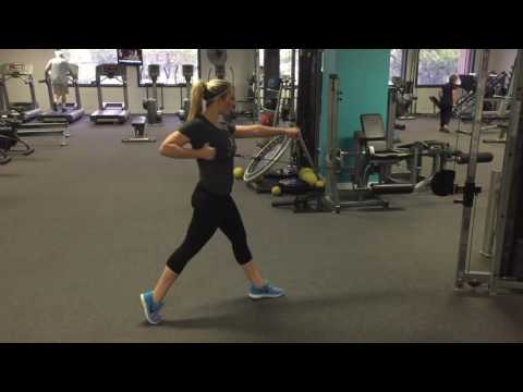 Single Arm Lunge Row With Cable