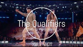 Sean & Kaycee l Behind-The-Scenes l NBC World Of Dance: The Qualifiers