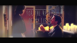 "► Ezra + Aria | ""For the rest of my life"" [7x05]"