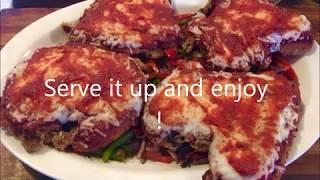 Blackstone griddle Chicken Parmesan