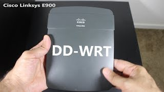How to Install DD-WRT on a Linksys E900 Wireless Router