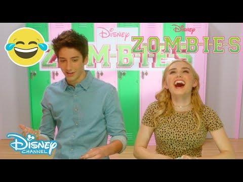 Z-O-M-B-I-E-S | Mystery Slime Challenge ⁉️ 😱 | Disney Channel UK