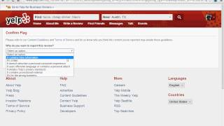 Yelp Training Course: Removing Negative Reviews