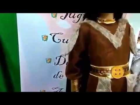 Disfraz de vikinga infantil