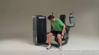 Matrix Fitness Ultra Pec Fly Setup & Movements