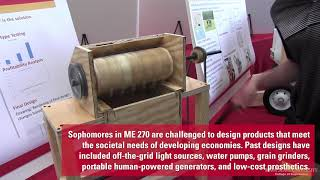 Spring 2019 Mechanical Engineering Design Expo