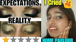 I WENT TO THE WORST REVIEWED MAKEUP ARTIST IN INDIA | Srishti's