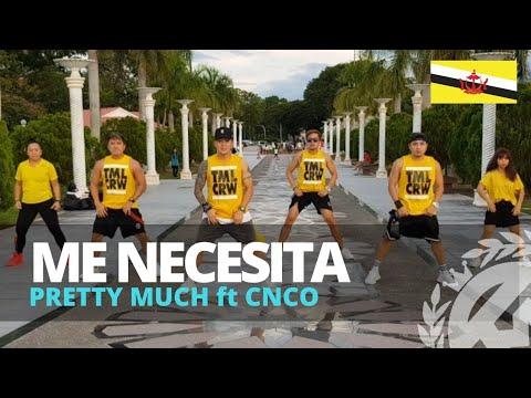 ME NECESITA by Prettymuch ft CNCO | Zumba | Reggaeton | TML Crew Kramer Pastrana