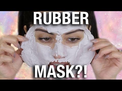 Mask na may tsokolate itlog mukha