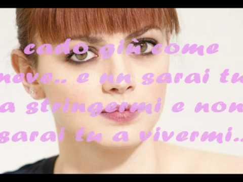 Annalisa Scarrone - Cado Giù + Testo