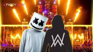 DJ Alan Walker Vs DJ Marshmello 🔥 Alone Vs Faded BreakBeat Remix 2017