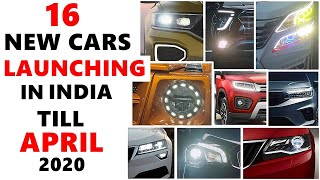 16 New cars launching in 2 months till april   upcoming cars india 2020   ASY
