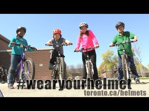Toronto Police Bike Helmet Video