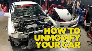 How To Unmodify Your Car