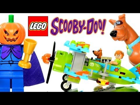 Vidéo LEGO Scooby-doo 75901 : Les aventures mystérieuses en avion