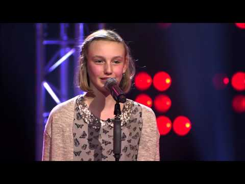 Jasmine – 'Radioactive' | Blind Audition | The Voice Kids | VTM