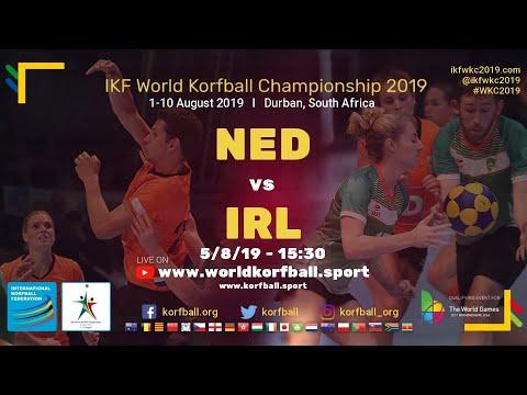 Volg Fleur Hoek en het Nederlands korfbalteam via livestream van het WK