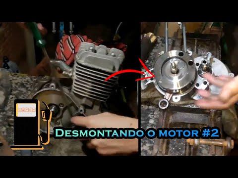 Como desmontar um motor de bicicleta motorizada, Parte 2 - 🛠 🛠 🛠