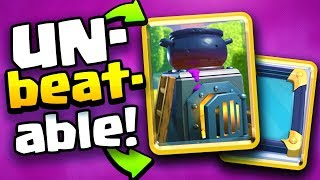 UNBEATABLE COMBO! FURNACE + MIRROR Deck in Clash Royale!