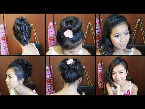 Tutorial de peinados para pelo corto