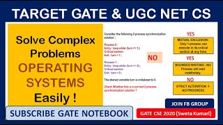 7 PM   Solve Complex Problems of Operating Systems Easily  - GATE &  UGC NET CS Exam