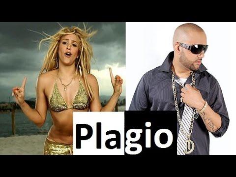 ¡PLAGIO! Shakira - El cata: Loca (2009) - Loca con su tiguere (2008) (comparison) plagiarism