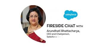 Fireside Chat with Arundhati Bhattacharya, CEO Salesforce India