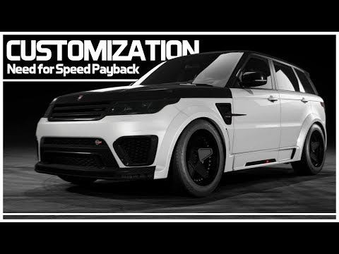Need for Speed Payback – Preview Customization – Range Rover Sport SVR