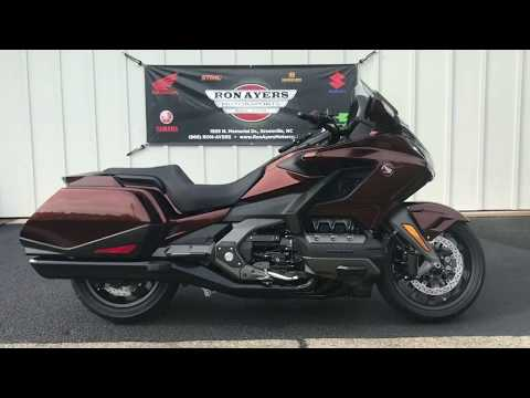 2018 Honda Gold Wing DCT in Greenville, North Carolina