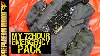 FAQ: Whats Inside My 72 Hour Emergency Pack? - Preparedmind101