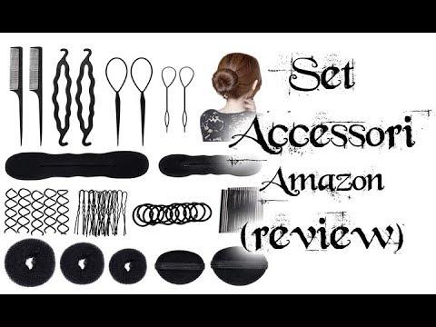 Review Set Amazon accessori per Capelli- Accessori