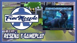 Dinogenics Juego de Mesa Preparación cómo se juegay Gameplay Español