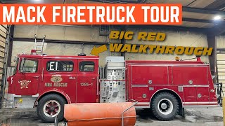 Here's A COMPLETE Tour Of My 1977 Mack CF-600 FIRETRUCK