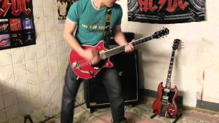 AC/DC Down Payment Blues Malcolm Young Guitar Cover HD