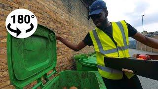 Cooking Dumpster Dive VR180 - Part 3