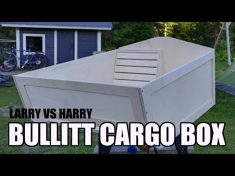Larry Vs Harry Bullitt Cargo Box