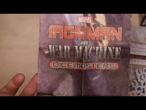 Unboxing: Marvel Dice Masters: Iron Man and War Machine Starter Set