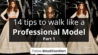 How to do ramp walk like a professional model (Hindi)   Ramp walk tips for beginners Tutorial