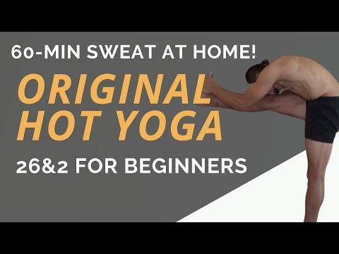#pureyogatv 60-min Original Hot Yoga (Bikram Yoga class) LIVE!