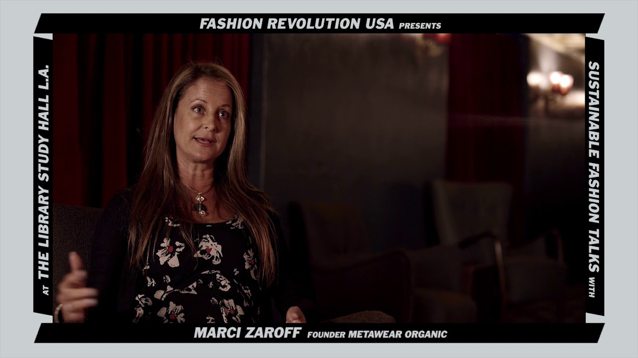 #SustainableFashionTalks: Marci Zaroff