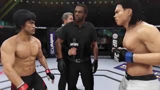 Bruce Lee Vs. Bolo Yeung (EA Sports UFC 3)   CPU Vs. CPU
