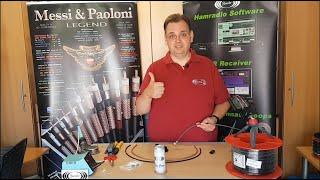 PL/UHF-Stecker auf H155 Koaxialkabel montieren