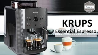 KRUPS Essential Espresso EA8100 Automatik Serie - 15 bar - KRUPS YY4451FD - Unboxing