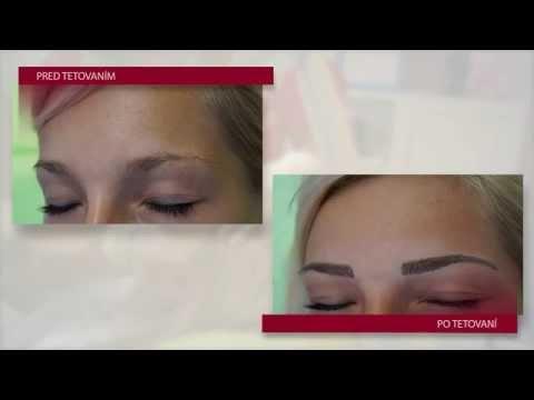 Permanentný make-up obočia čiarkovanou metódou, Veronika Kocianová