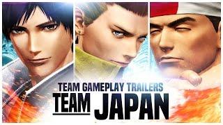 "KOF XIV - Team Gameplay Trailer  #1 ""JAPAN"""