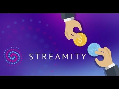 Streamity - обмен криптовалют в пару кликов!