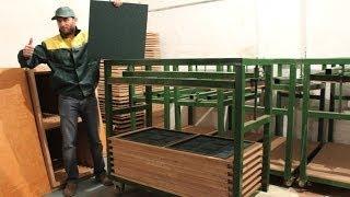 Оборудование для производства - Резиновая плитка – Покрытия из резиновой крошки – Плика резиновая